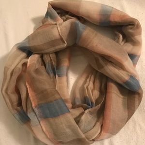 Sheer infinity scarf